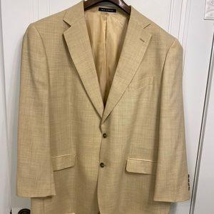 Alan Flusser Sport Coat Jacket Blazer Wool & Linen